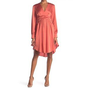 NWT Do + Be High Low Dress Clay Small